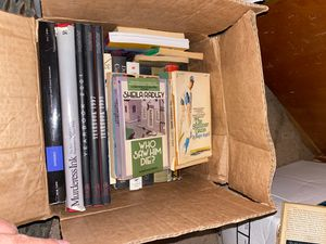Boxes of books for Sale in Brooklyn, NY