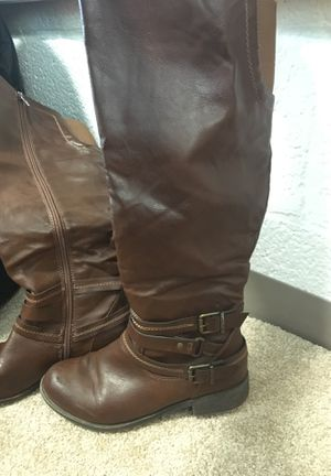 JUST FAB Austie Western Inspired Boot Women's Size 7.5 for Sale in PA, US