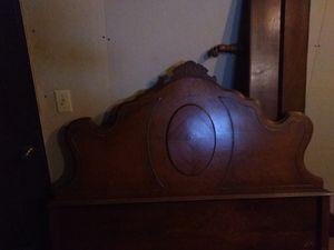 Antique full-sized headboard for Sale in Fond du Lac, WI