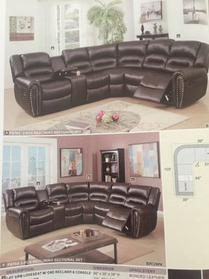 SECTIONAL DOBLE RECLINER for Sale in Hialeah, FL