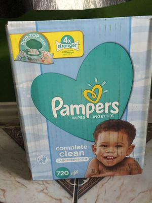 Wipes pampers $14 for Sale in Houston, TX