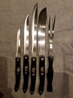 Cutco Knives and carving fork for Sale in Dublin, OH