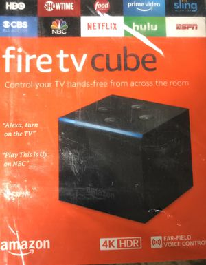Amazon fire cube tv new hdr jailB int/speaker latest gen all new 2nd gen for Sale in San Leandro, CA