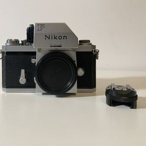 Nikon F 35mm Film Camera Body w/ FTn Finder & AS-1 Hot Shoe Adapter for Sale in St. Petersburg, FL