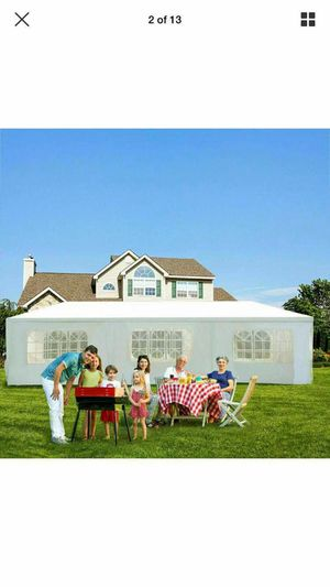 (WE DELIVER) 10' x 30' x 8.5' White Event Tent With 8 Side Walls - Wedding Gazebo - Outdoor Pavilion for Sale in San Diego, CA