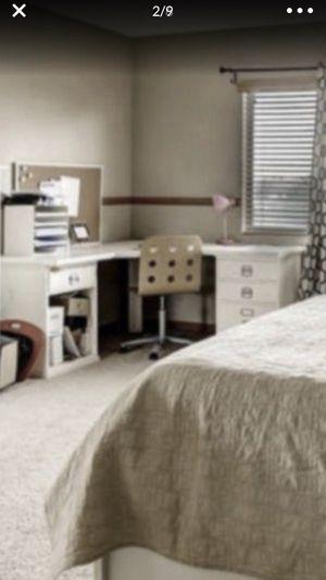 Pottery Barn corner desk white for Sale in National City, CA