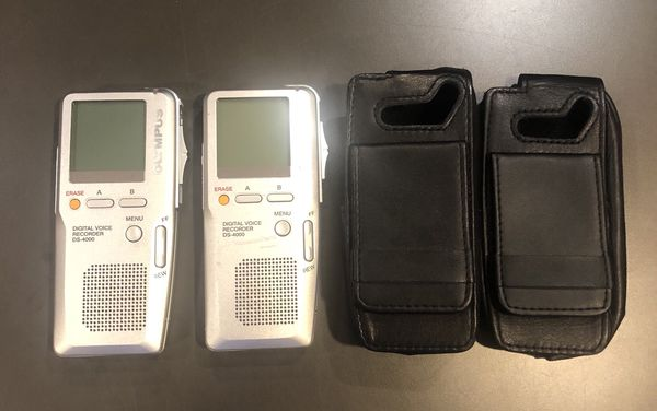 Olympus Digital Dictation Device, mint condition. 25 dollars each.