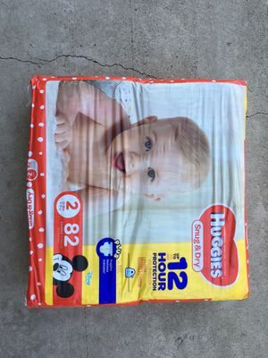 Size 2 diapers for Sale in Fullerton, CA