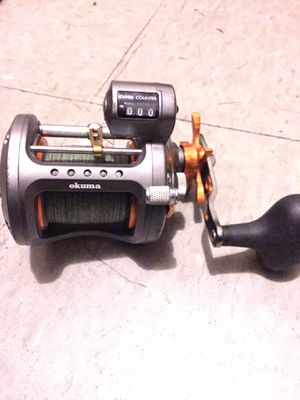 Okuma Reel with depth counter for Sale in New York, NY