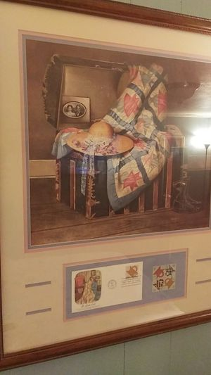 Framed Art Set By Sandy Clough circa 1986 for Sale in Glastonbury, CT