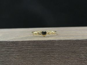 Size 4 10K Gold Dainty Small Heart Band Ring Vintage Estate Wedding Engagement Anniversary Gift Idea Beautiful Elegant Unique for Sale in Bothell, WA