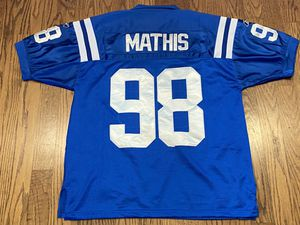 Indianapolis Colts Robert Mathis #98 NFL Equipment Reebok Jersey Size 48 Medium for Sale in La Mesa, CA