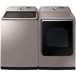 Samsung5.4-cu ft High Efficiency Steam Cycle Top-Load Washer (Champagne) ENERGY for Sale in Tulalip,  WA
