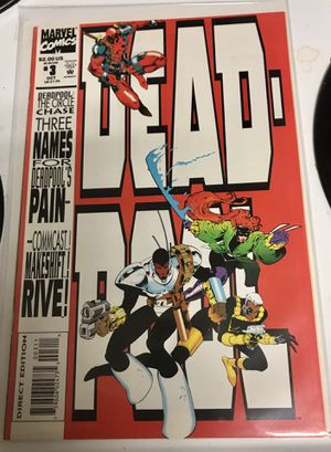 Marvel Direct Edition Deadpool #3 comic for Sale in Ponte Vedra Beach, FL