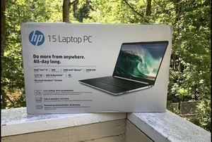 HP Laptop i5 10th Gen 8gb ram 256ssd brand new for Sale in Atlanta, GA