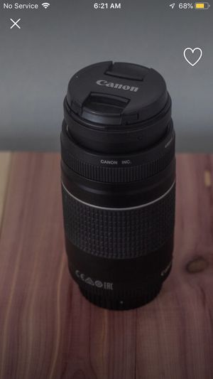 Canon 75-300mm Telephoto Lens for Sale in Silver Spring, MD