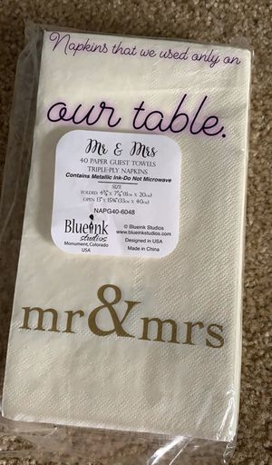 Table napkins for Sale in Otsego, MN