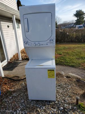 Electric laundry unit stacked washer dryer for Sale in Levittown, PA