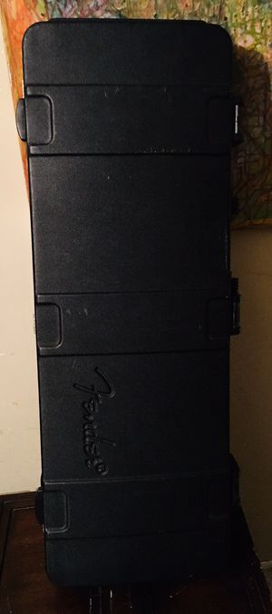 Fender TSA Hard shell guitar case for Strat or Tele for Sale in Santa Clarita, CA