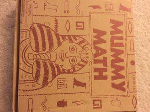 Mummy Math Board Game for Sale in Fairfax, VA