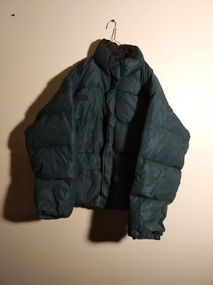 Puffy Green Columbia jacket size large men's for Sale in Takoma Park, MD