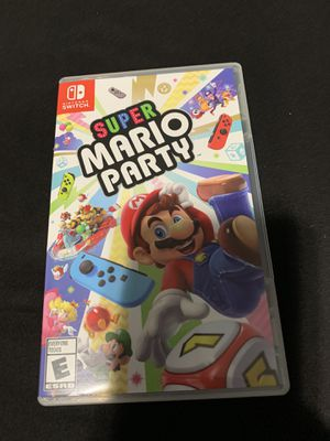 Super mario party nintendo switch for Sale in Perris, CA