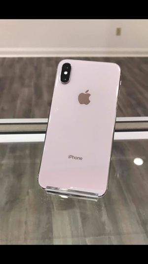 iPhone X 256gb AT&T, Cricket, H2O, And Net 10 Excellent Condition for Sale in Cary, NC