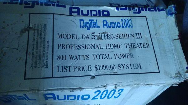Digital audio 2003