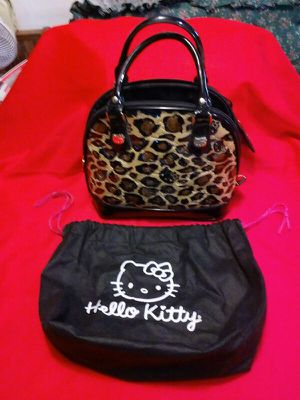 Small Hello Kitty Like new Purse and bag for Sale in Denver, CO