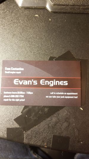 Evan's Engines small engine repair for Sale in Blackstone, MA