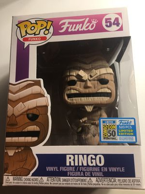Freaky tiki fundays RINGO (Brown) funko pop for Sale in Brea, CA