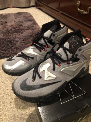 Nike LeBron 13's size 9 for Sale in Odenton, MD