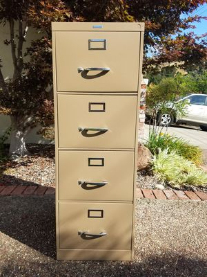 File Cabinet - 4 Drawer, Legal Size for Sale in Martinez, CA