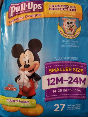 New Huggies Pull-Ups 12M-24M (14-26 lb) 27 ct for Sale in Henderson, NV