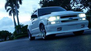 Chevy s10 xtreme 4.3L slammed clean title c6 Corvette wheels for Sale in Pembroke Pines, FL