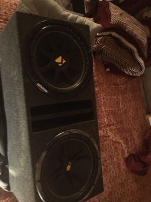 subwoofers kickers 12's for Sale in Dallas, TX