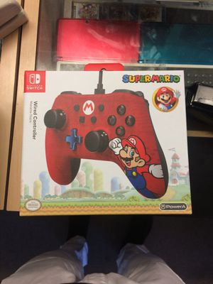 Super Mario Wired Controller NINTENDO SWITCH for Sale in Carmichael, CA