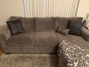 Modern Couch / sectional from Raymour and Flannigan for Sale in Carteret, NJ