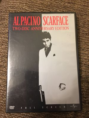 Scarface 2 Disc Anniversary Edition for Sale in Greenville, SC