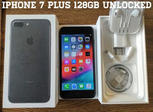Iphone 7 Plus (128GB) Factory-UNLOCKED (Like-New) for Sale in Falls Church, VA