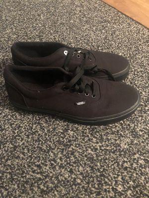 NEW Vans Men's Skate Shoes Black Size 10.5 for Sale in Nokomis, FL