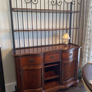 Bakers Rack Hutch (Weirs Furniture) for Sale in Forney, TX