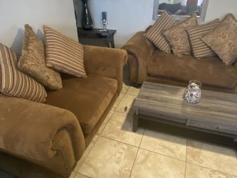 Brown couch set for Sale in Phoenix,  AZ