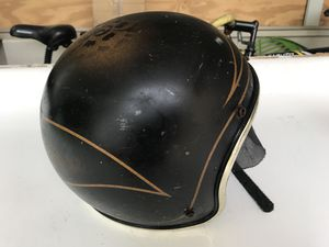 Old-fashioned vintage motorbike helmet for Sale in Hampton Township, PA