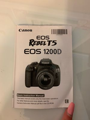 Canon EOS Rebel T5 for Sale in Westminster, CA