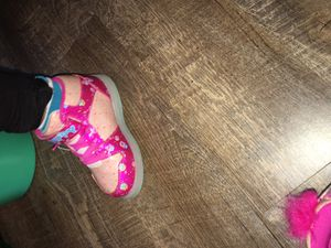Size 10 toddler light up troll shoes for Sale in Everett, WA