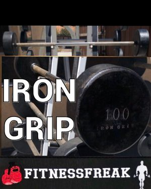 IRON GRIP 100 lb FIXED BAR for Sale in El Cajon, CA