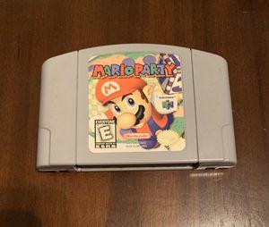 Mario Party N64 for Sale in San Antonio, TX