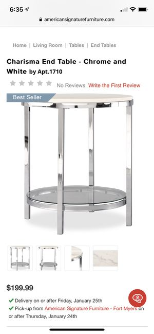 American Signature End Table for Sale in Tampa, FL