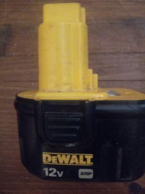 Dewault 12 v batterey for Sale in Carmichael, CA